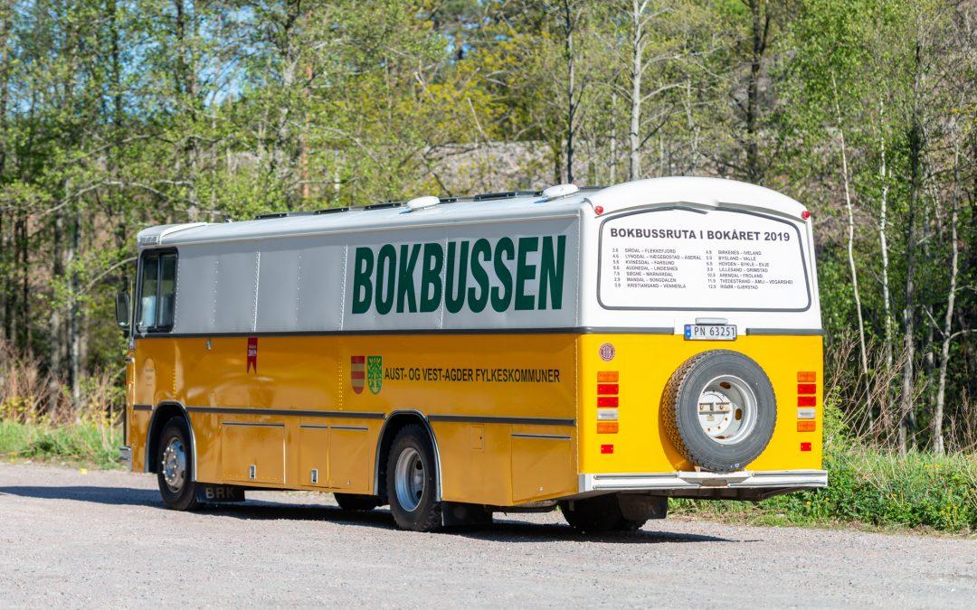Bokbussen kommer!